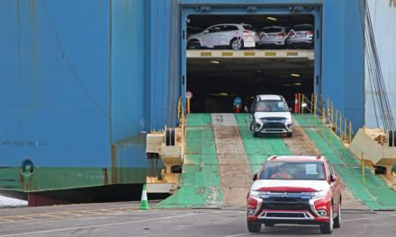 FIRST SHIPMENT OF 2019 MITSUBISHI OUTLANDER PHEV ARRIVES IN THE UK
