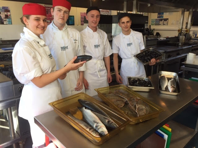 Student chef scoops top plaice in seafood challenge